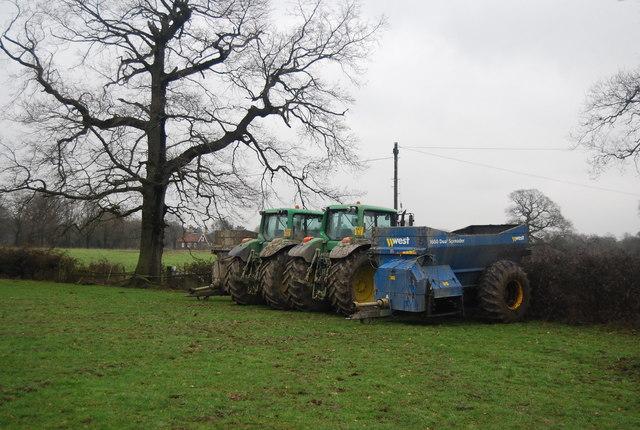 Tractors, Beckett's Farm
