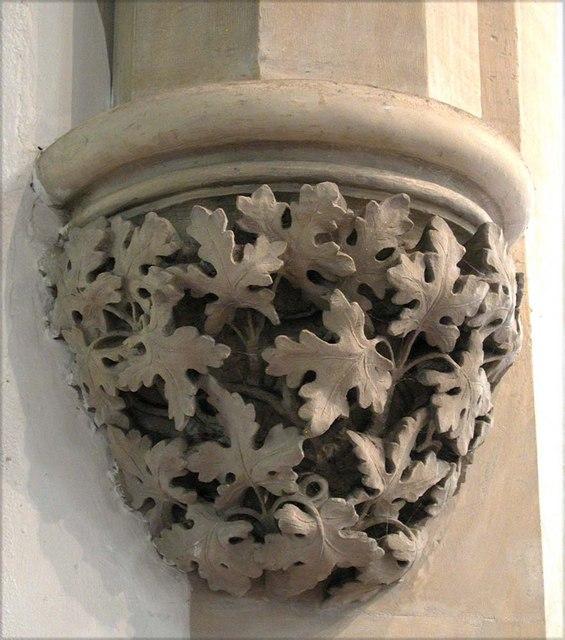 All Saints, Harrow Weald, Middlesex  - Corbel