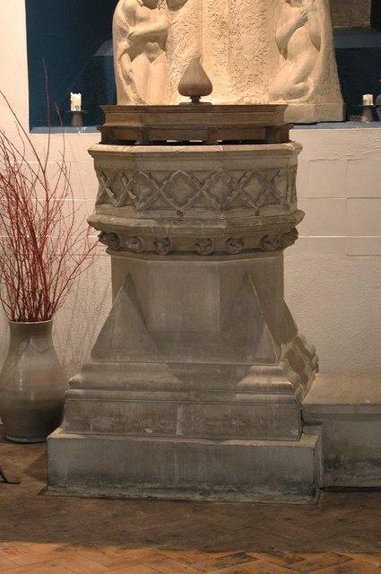 All Saints, Harrow Weald, Middlesex  - Font