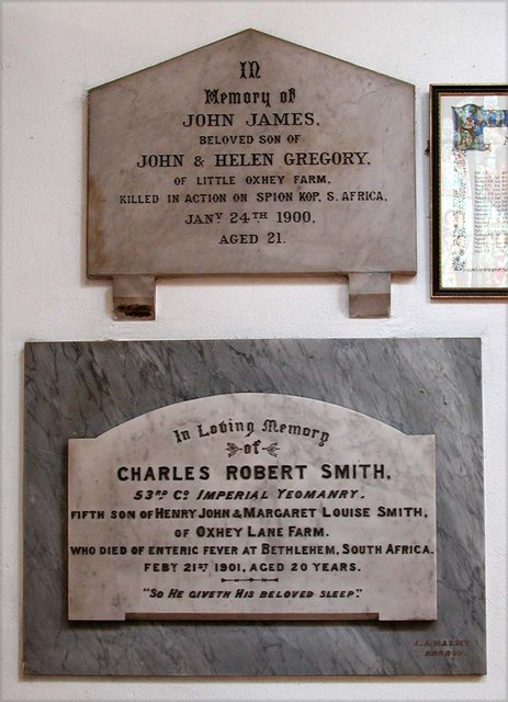 All Saints, Harrow Weald, Middlesex  - Wall monuments