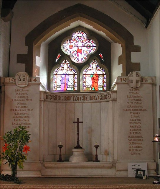 All Saints, Harrow Weald, Middlesex  - South chapel