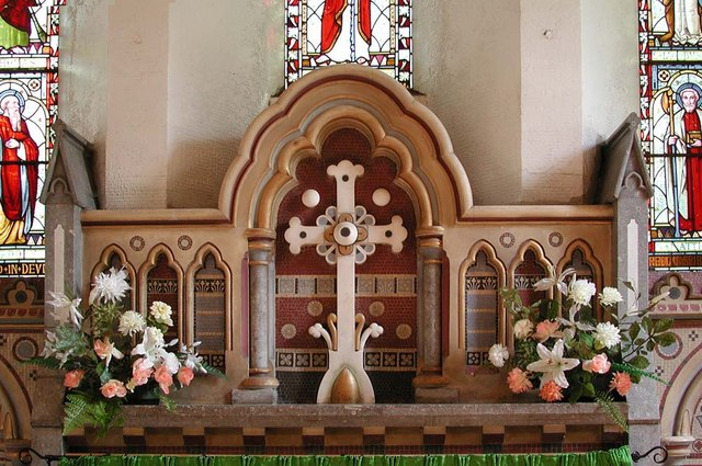 All Saints, Harrow Weald, Middlesex  - Reredos