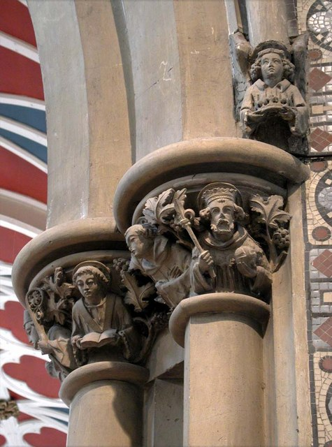 All Saints, Harrow Weald, Middlesex  - Capital