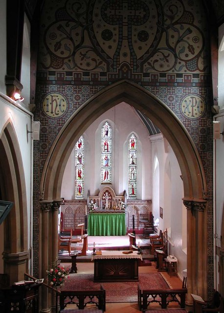 All Saints, Harrow Weald, Middlesex  - East end