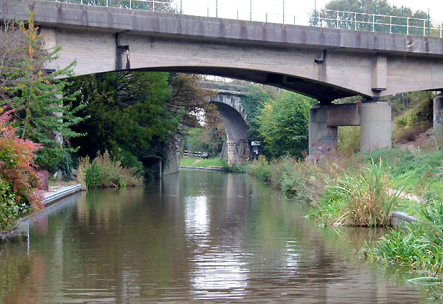 Bridges across the Trent and Mersey Canal at Rugeley