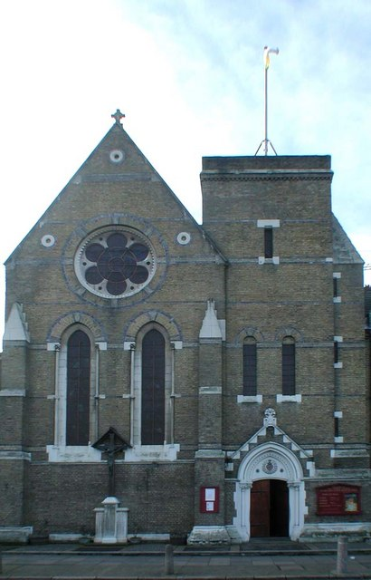 Sacred Heart of Jesus, Eden Grove, London N7