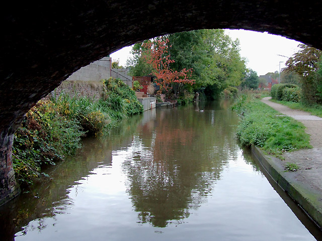 Trent and Mersey Canal at Rugeley, Staffordshire