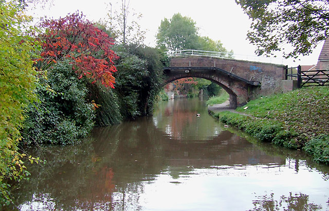 Bridge No 65 at Rugeley, Staffordshire