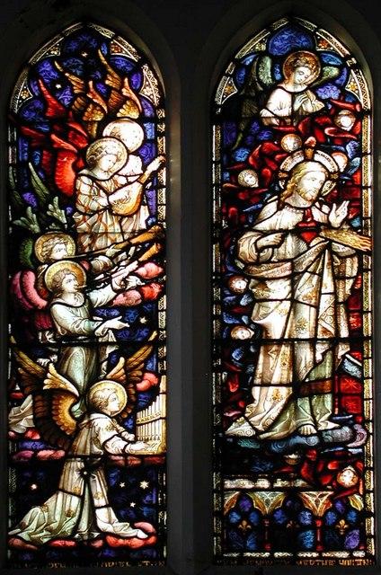 Sacred Heart of Jesus, Eden Grove, London N7 - Window