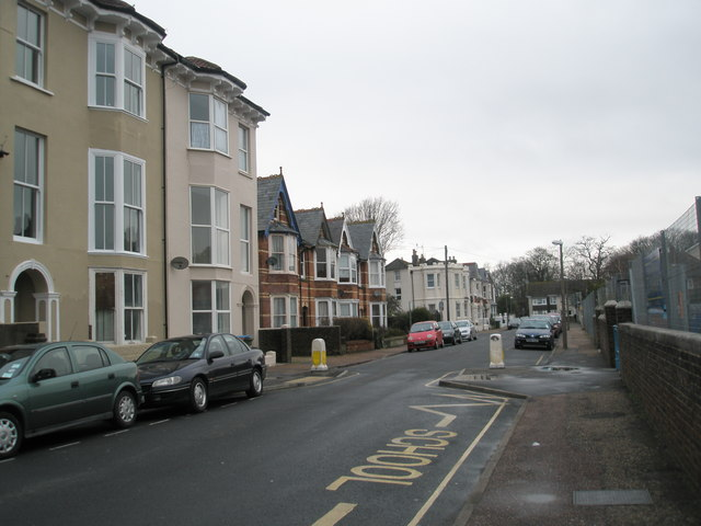 Glamis Street on a dull January morning