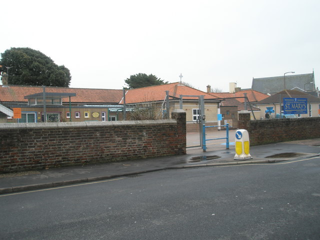St Mary's RC Primary School in Glamis Street