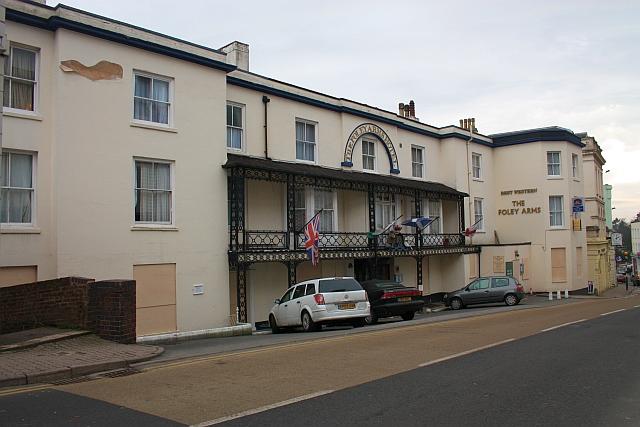 The Foley Hotel, Great Malvern