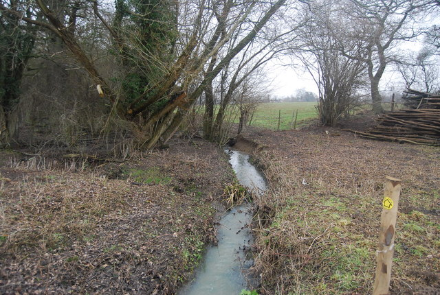 Stream flowing south to the River Eden