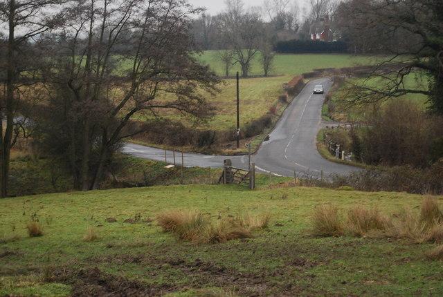 Junction of Station Hill & Moorden Lane