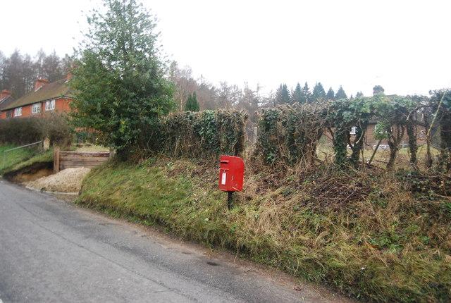 Postbox, Station Hill, Moorden