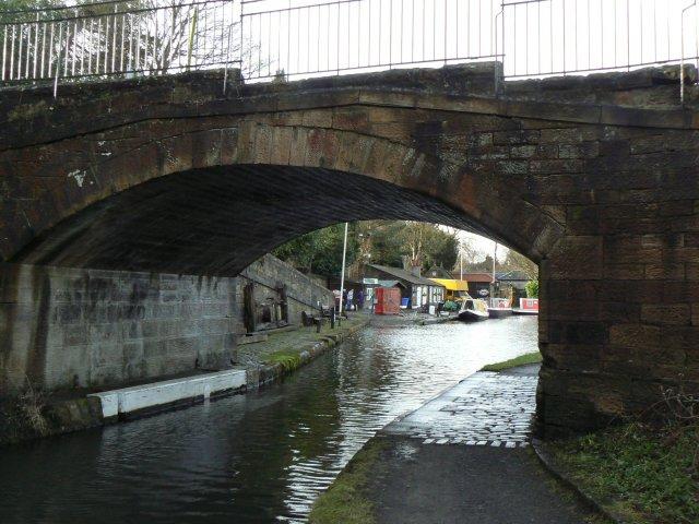 Basin through the bridge