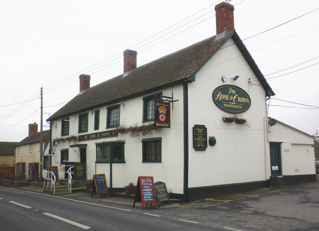 The Rose and Crown, East Lyng