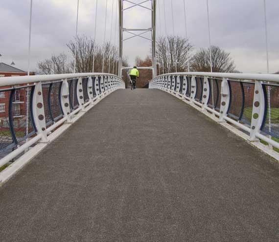 Honeybourne Line cycle path
