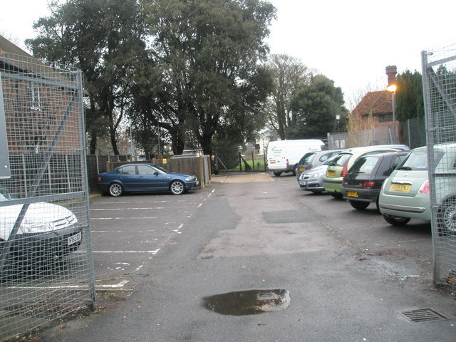 Car park between Glamis Street and St Mary's Field