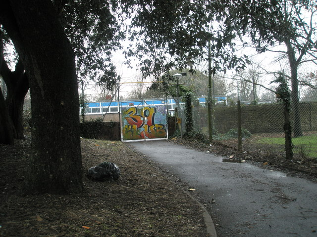Youth club in Glamis Road