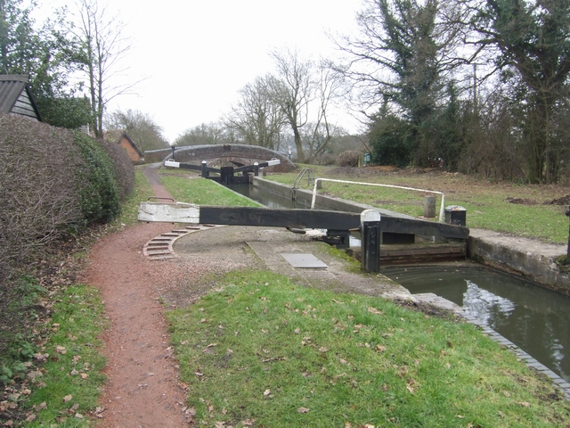 Lapworth Locks - Lock No 4