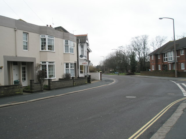 London Road on a grey January morning