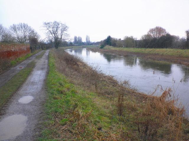 River Parrett, near Burrowbridge