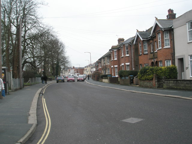 Mid section of London Road