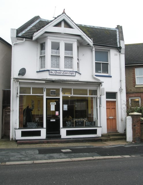 The Rosie Lee Café in London Road