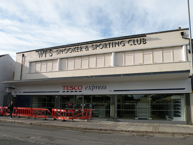 Tesco is coming