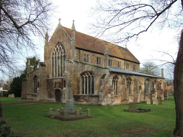 Tydd St Giles church