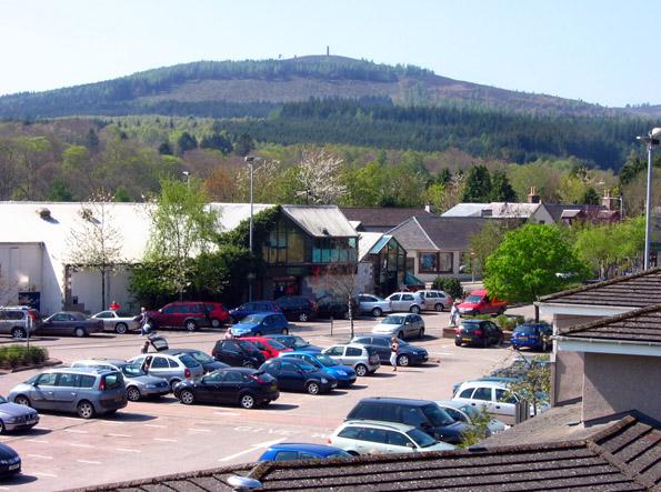 Bellfield car park, Banchory