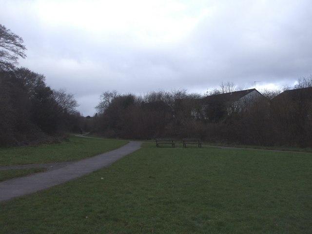 Footpath, Pentwyn, Cardiff