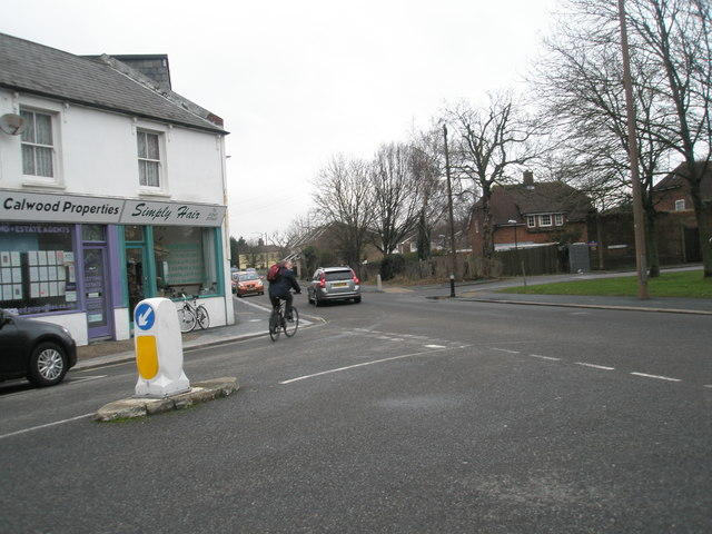 Junction of Spencer Street and London Road