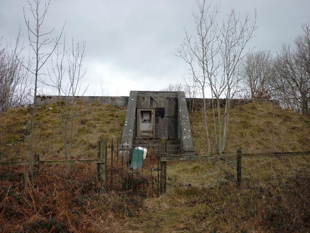 Half-buried building, Haverbrack Fell
