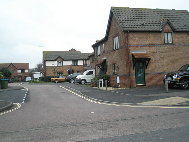 Looking from Spencer Street into Gibson Way