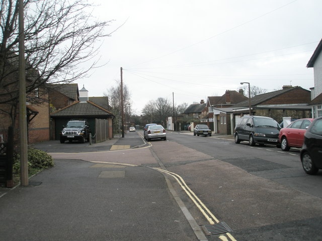 Junction of Spencer  Street and Gibson Way
