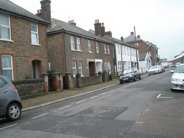 Spencer Street on a dull January morning