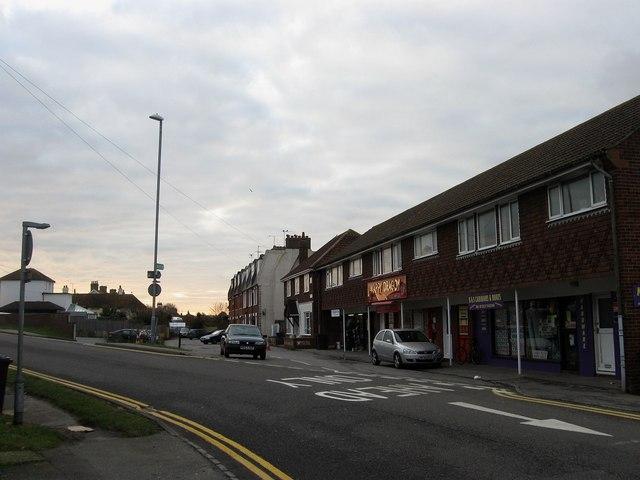 Shops, North Road