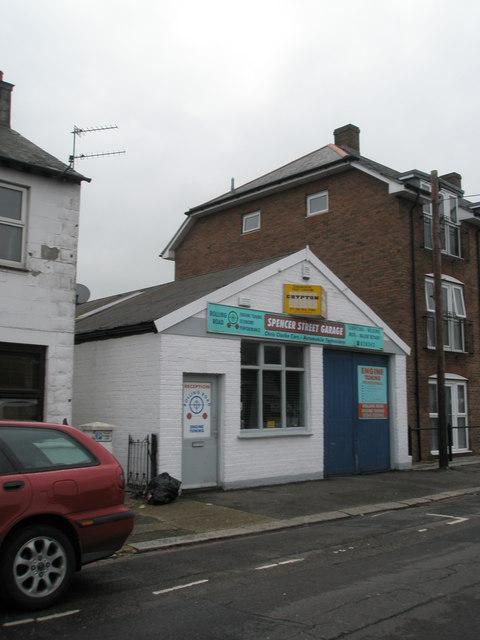 Spencer Street Garage
