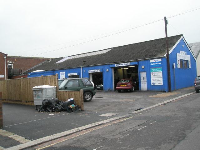 Service bays in Spencer Street