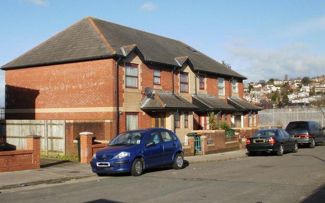 Redvers Street modern housing, Newport
