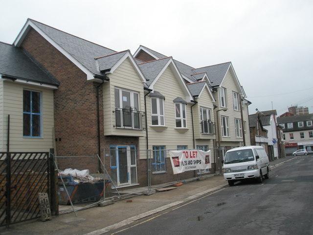 New flats in Spencer Street