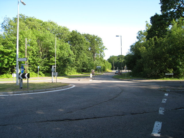 Roundabout in Chineham