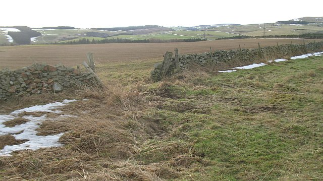 The agricultural end of the Lammermuir Hills