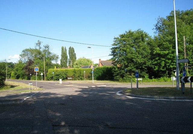 Chineham roundabout