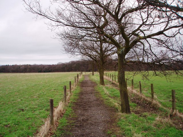 Footpath to Middle Burtons