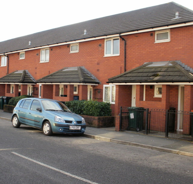 St Philip's Flats, Cromwell Road, Newport