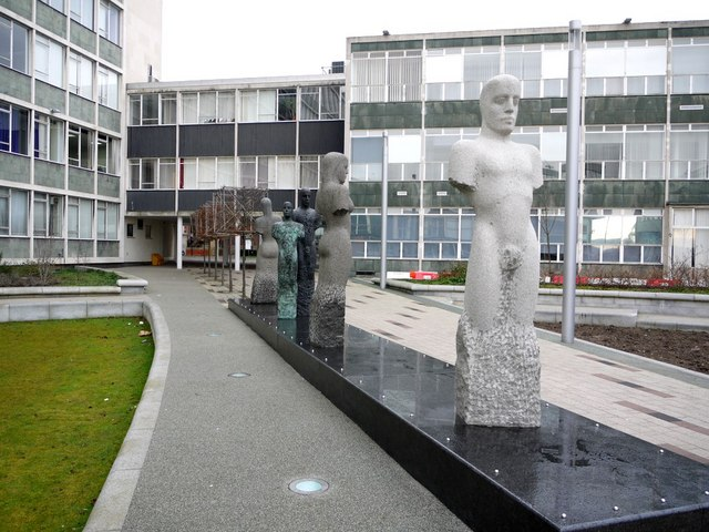 Ellison Courtyard, University of Northumbria
