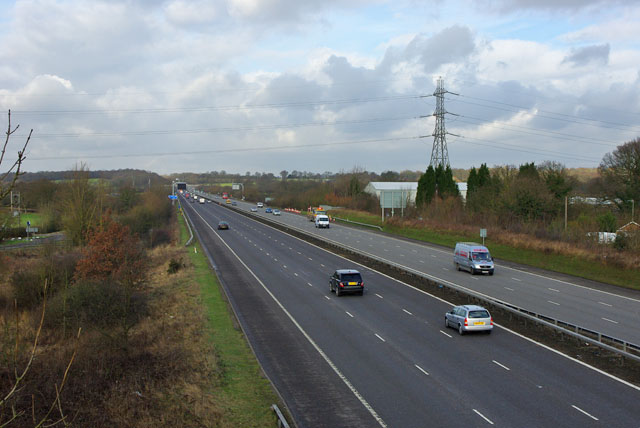 M23 towards London